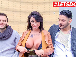 LETSDOEIT - Big Tits Pornstar Picks Up Amateur From Street