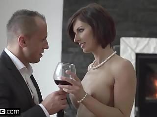 Glamkore - Jenifer Jane sensual striptease & anal pounding