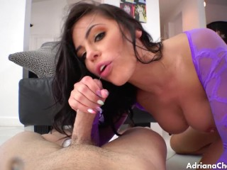 Adriana chechik gets done pov