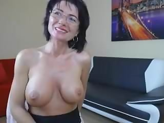 Mature Shows Tits On Cam