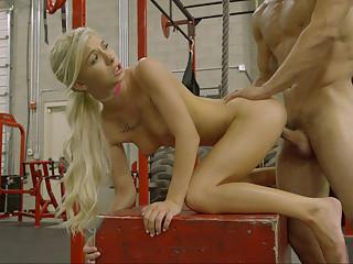 Juicy gym pussy